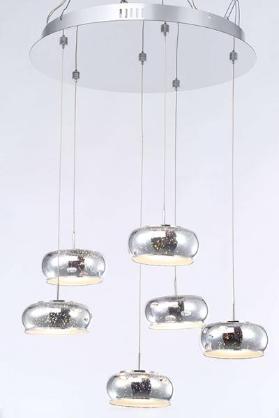Ballau.eu - Melissa P6/55 LED Pendelleuchte 3D-Glas