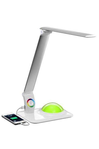 big bang led schreibtischlampe mit rgb farbwechsel und usb anschluss. Black Bedroom Furniture Sets. Home Design Ideas