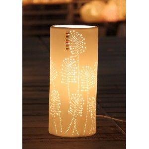 Ballau.eu - Palmora Dekorative Tischleuchte Creme 50044