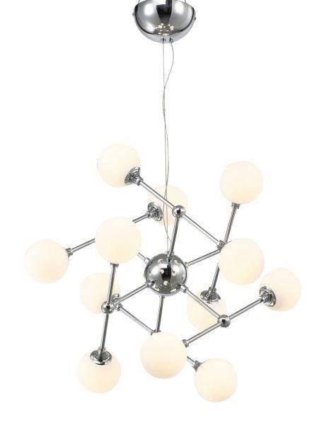 Ballau.eu - Atome P12 LED Pendelleuchte Opal Glasmodul 30015
