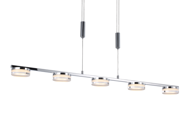 Ballau.eu - Denise P5/100 LED Pendellampe in Chrom