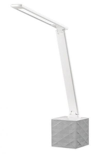 Ballau.eu - Art Black / White LED Bürotischlampe mit Bluetooth und USB 2.0