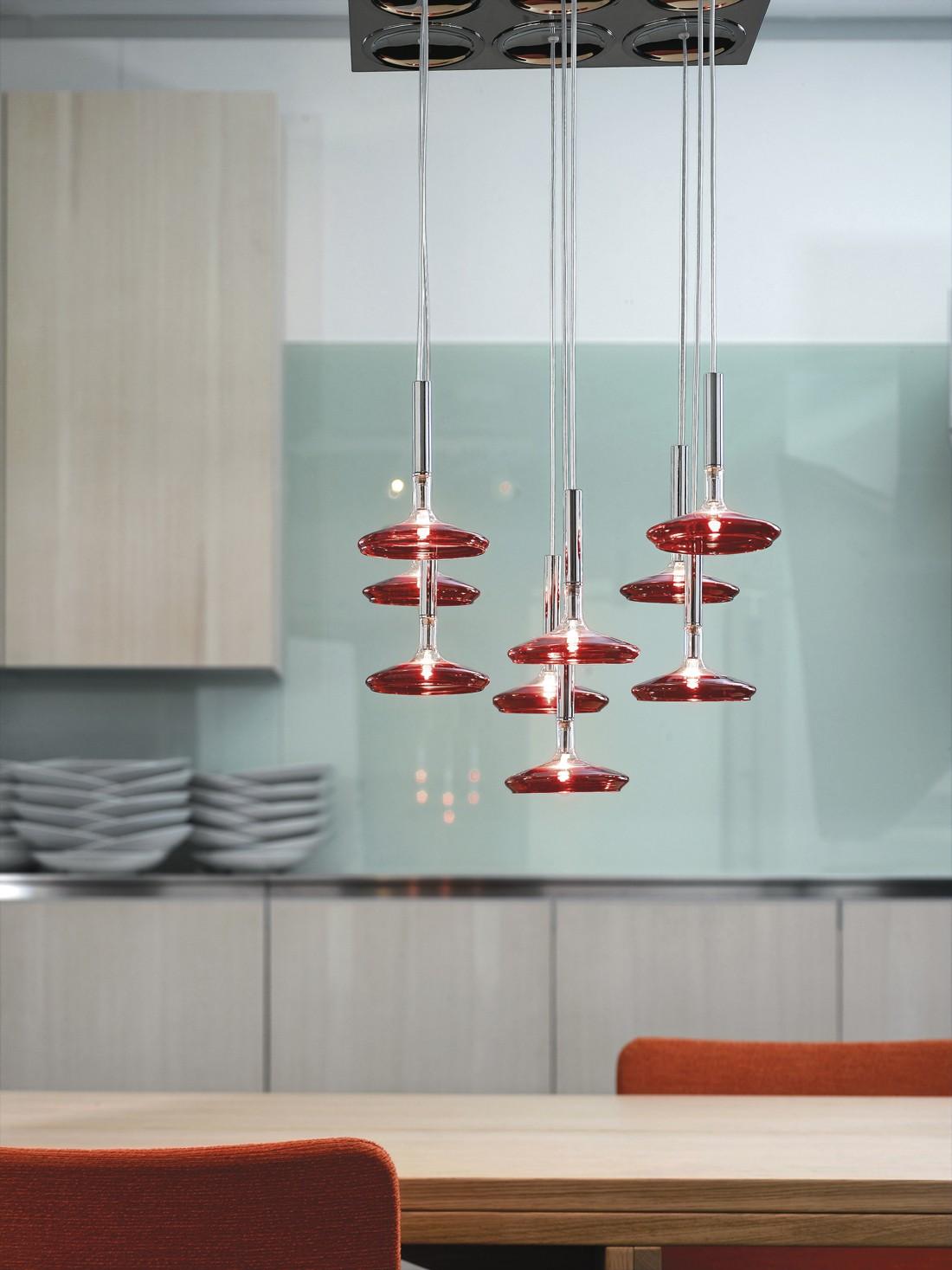 metal lux capriccio l36 h ngelampe. Black Bedroom Furniture Sets. Home Design Ideas